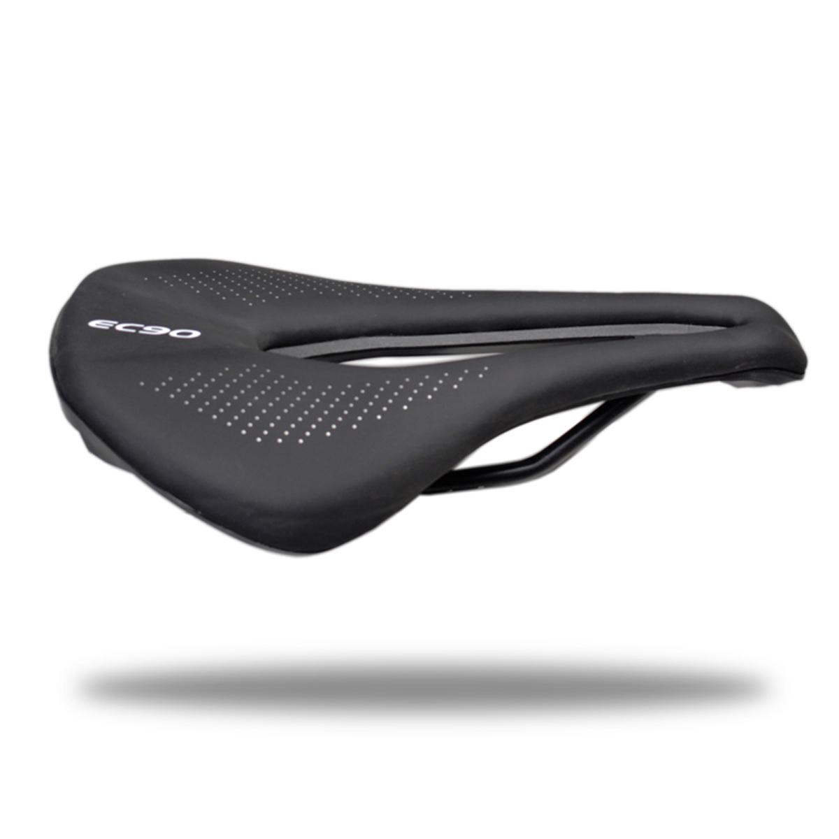 Gel PU Leather Bike Saddle Soft Comfort Spring Designed Bicycle Seat Cushion