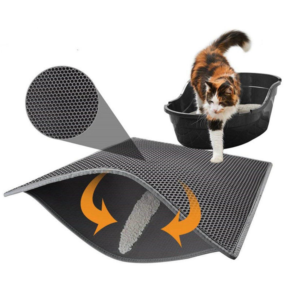 Waterproof Double Layer Cat Litter Mat Pet Kitten Trapper