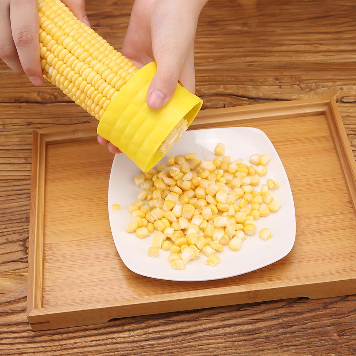 Details about Utility Kitchen Tool Corn Cob Kerneler Peeler Thresher  Stripper Remover Cutter