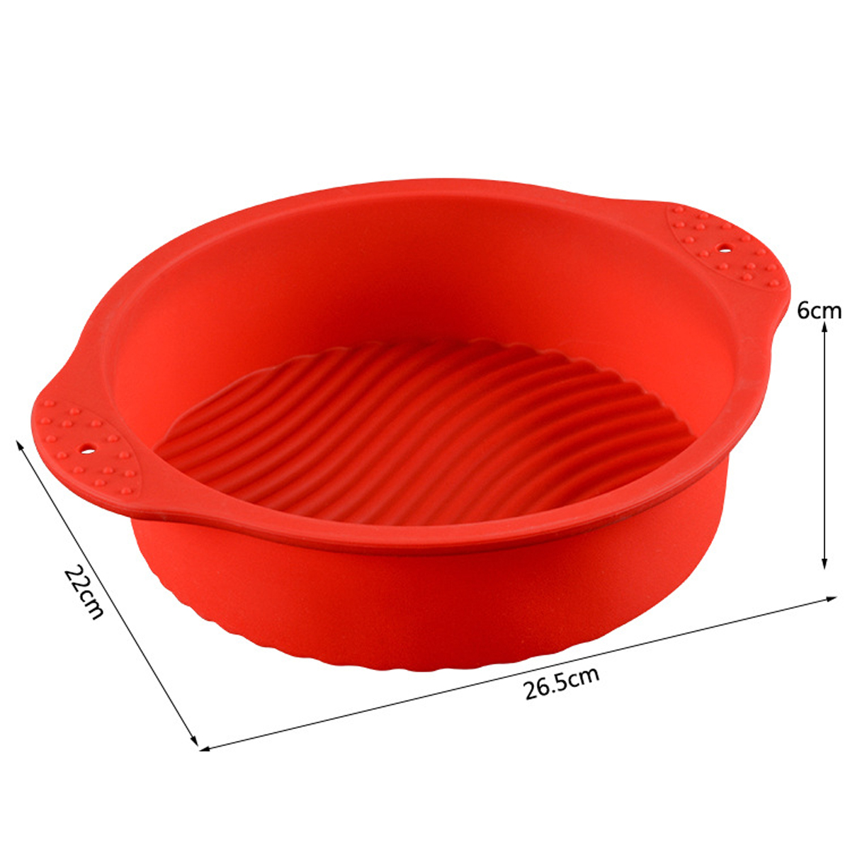 Round Non Stick Mould Toast Bar Bread Cake Baking Mold