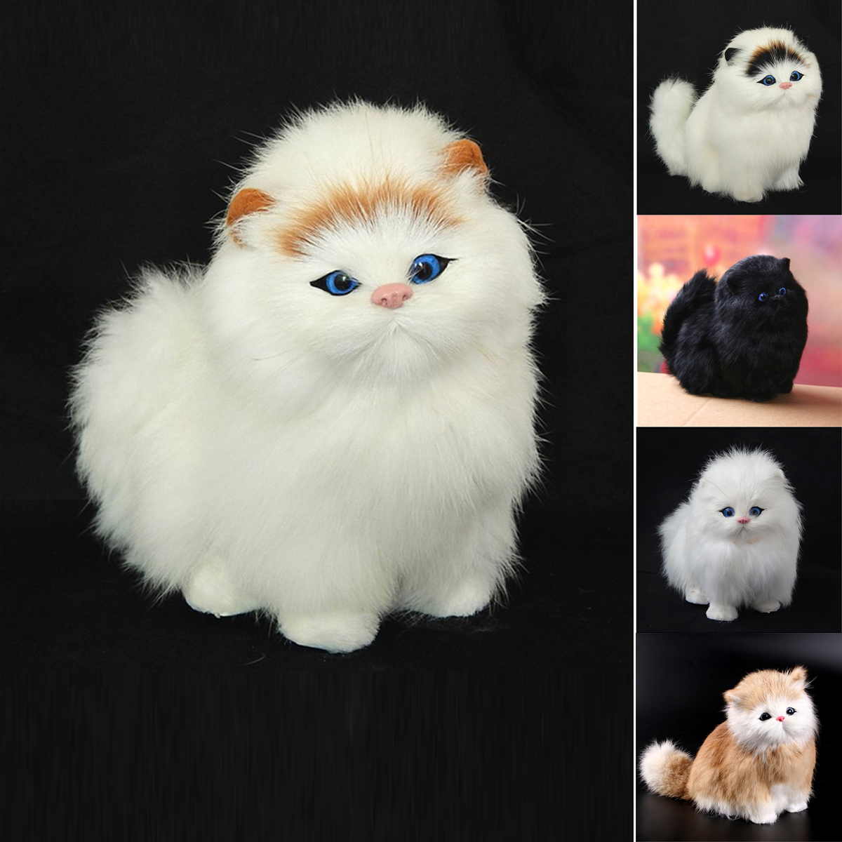 Boys & Girls Electronic Plush Cat Toy For 3 4 5 6 7 8 9 Year Old Age New Hot