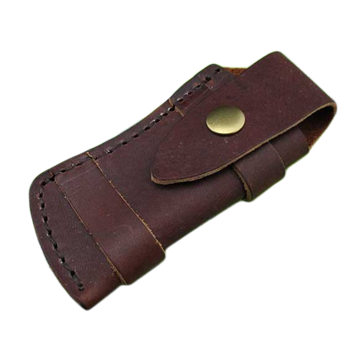 100 Genuine Leather Pouch Folding Pocket Knife Pouch