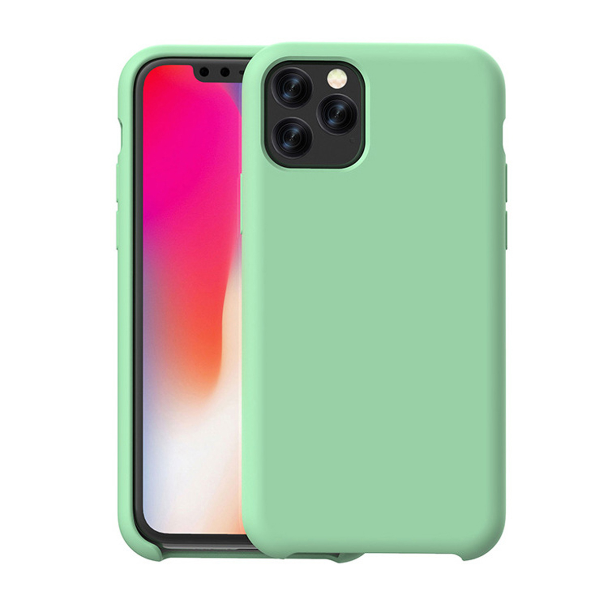 In my garden of pink and blue iPhone 11 case