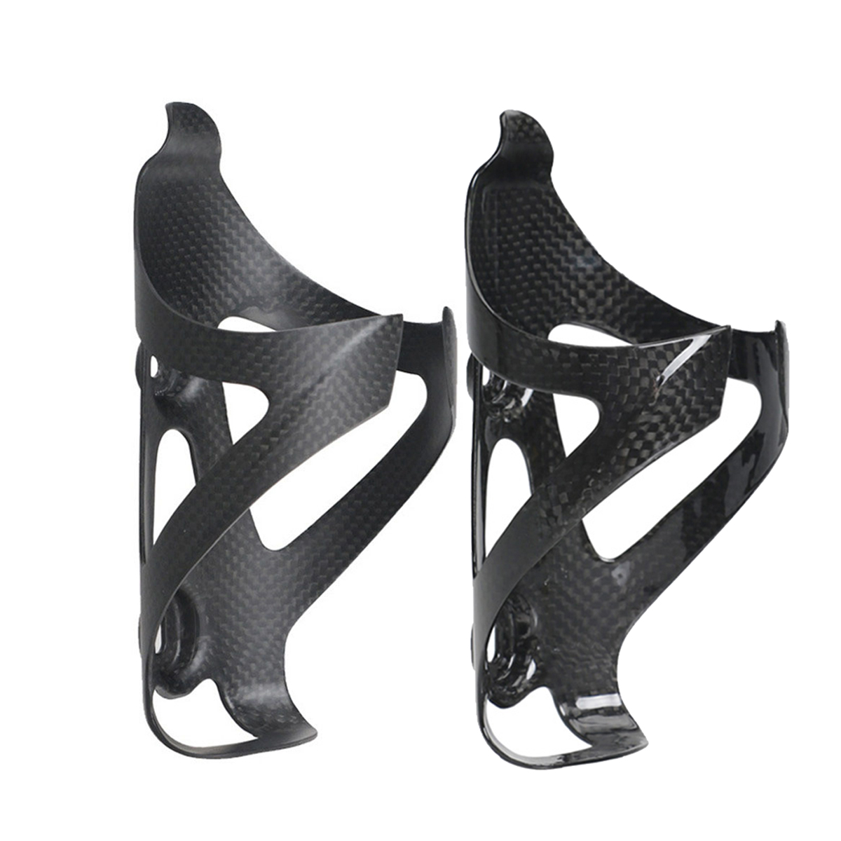 2Pcs Ultra-light Carbon Fiber MTB Road Bike Bicycle Water Bottle Holder Cage US