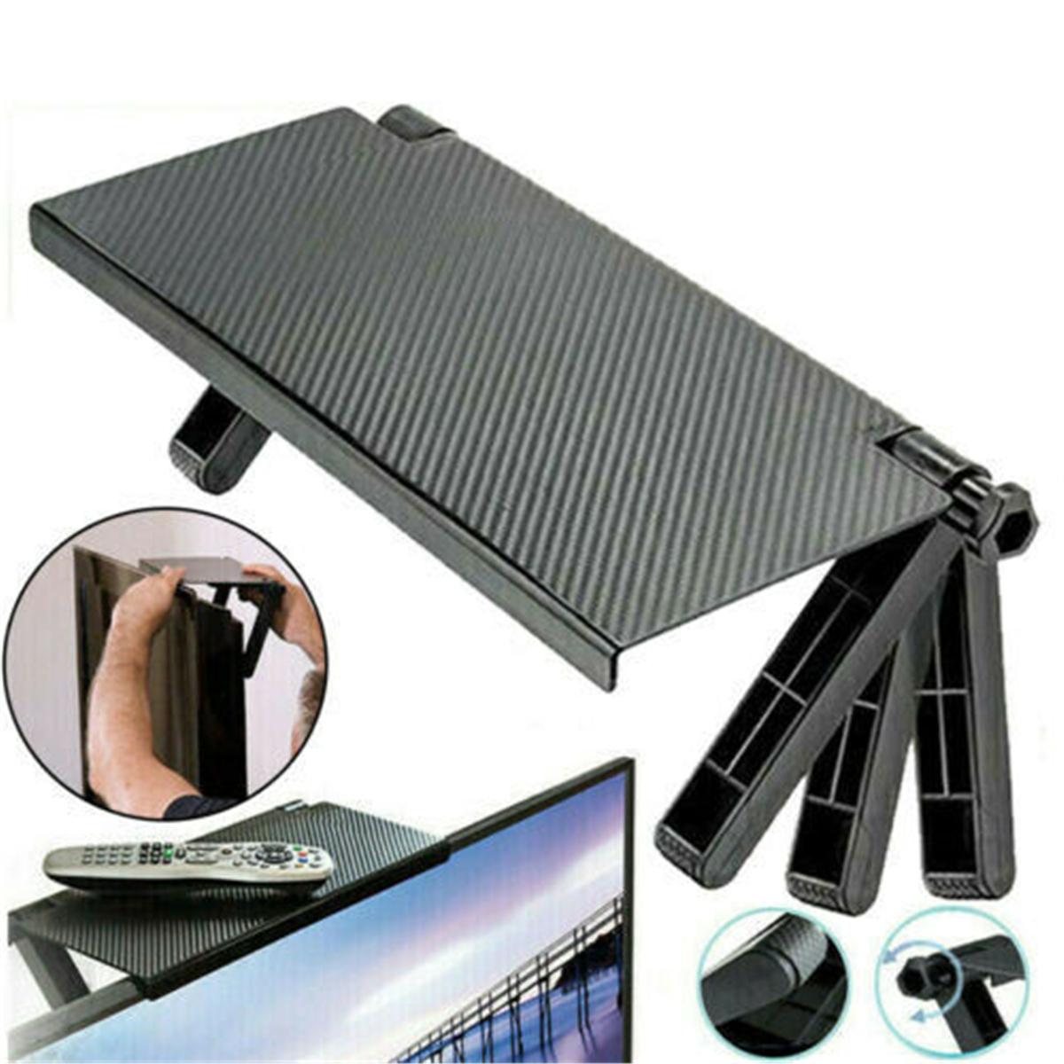 Screen Caddy Screen TOP Shelf Desktop Storage Rack Black Oraginal Adjustable