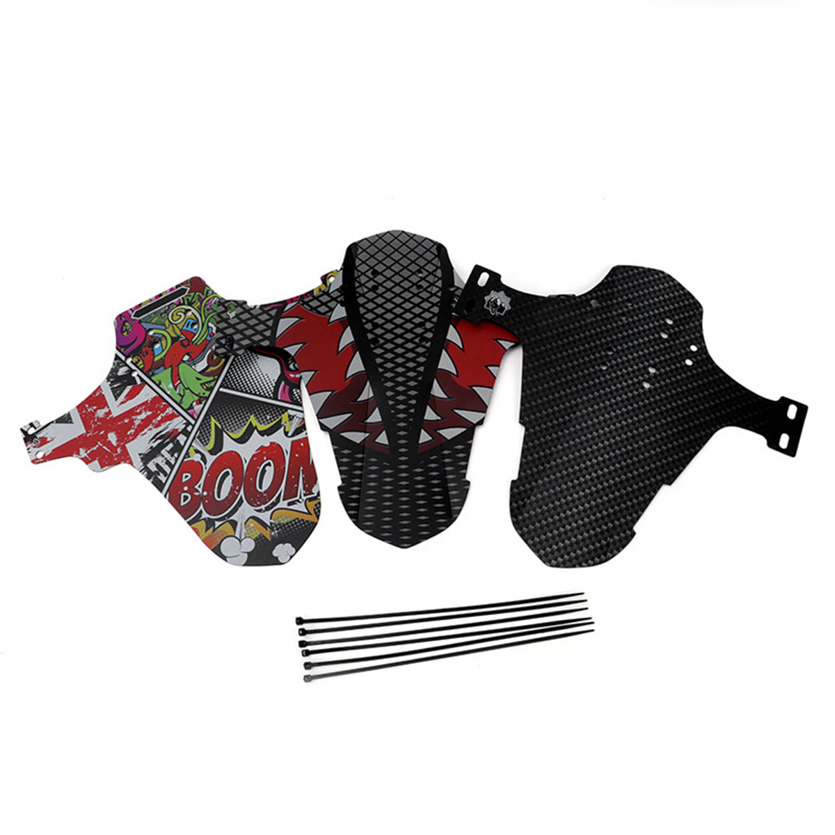 """2 pcs Mountain Bike Fenders MTB Mudguard Front and Rear,fit 26/"""" 29/"""" 27.5/"""""""