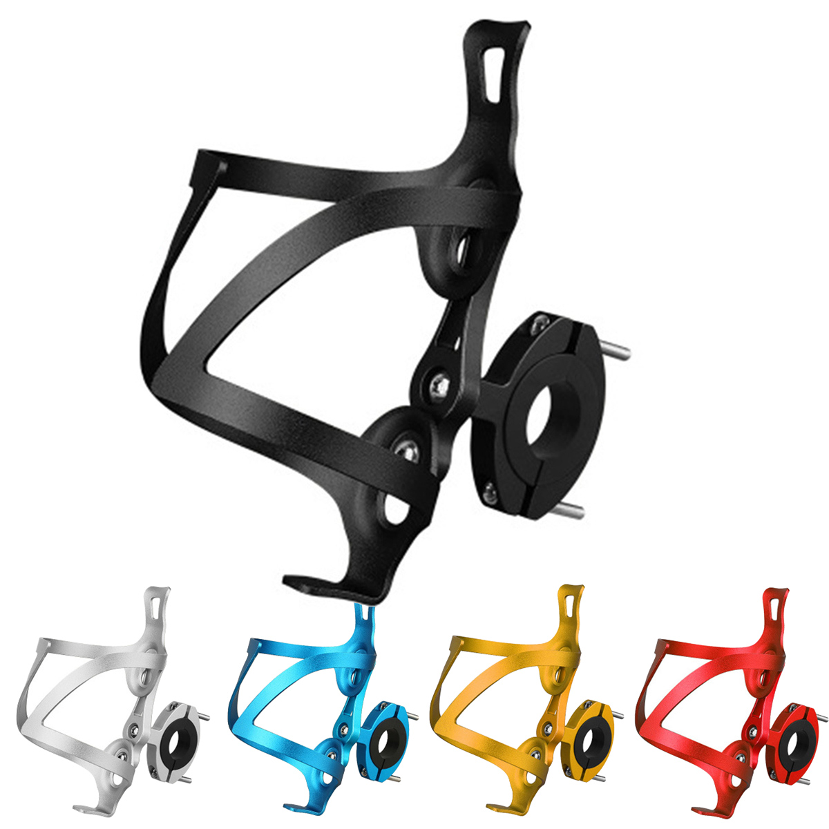 Aluminum Alloy Bicycle Cycling Drink Water Bottle Rack Holder Mount Cage Bracket